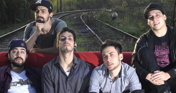 Banda Locomotrom realiza show de pop rock no Villa Pizza Bar Eventos BaresSP 570x300 imagem