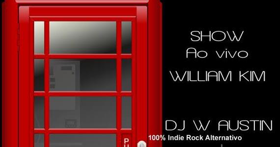 William Kim se apresenta nesta sexta-feira no London Station com muito pop rock Eventos BaresSP 570x300 imagem