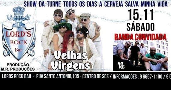 Velhas Virgens apresenta sua novo disco neste sábado no Lord's Rock Bar Eventos BaresSP 570x300 imagem