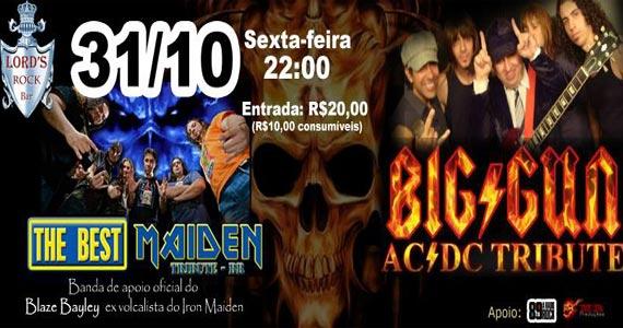 Halloween especial com tributo ao Iron Maiden e AC/DC nesta sexta no Lords Rock Bar Eventos BaresSP 570x300 imagem