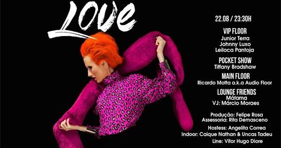 Bubu Lounge Disco promove a Festa Love com muitas atrações no sábado BaresSP 570x300 imagem