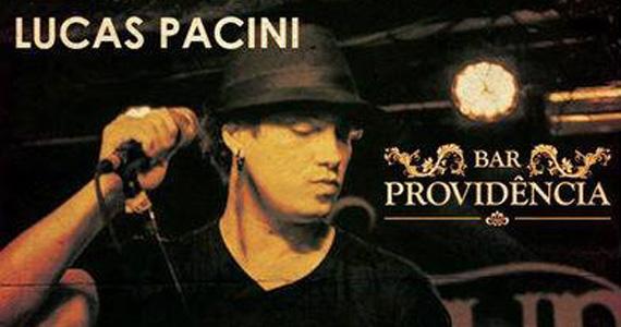 Lucas Pacini leva seus sucessos para o palco do Bar Providência Eventos BaresSP 570x300 imagem