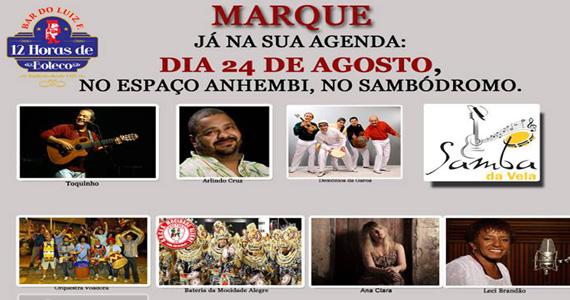 Shows especiais na festa 12 horas de Boteco promovida pelo Bar do Luiz Fernandes Eventos BaresSP 570x300 imagem