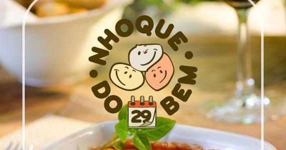 Restaurante Maremonti promove Nhoque do Bem na segunda Eventos BaresSP 570x300 imagem