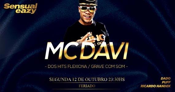 MC Davi toca sucessos do funk animando a sensual eazy da Eazy Club Eventos BaresSP 570x300 imagem