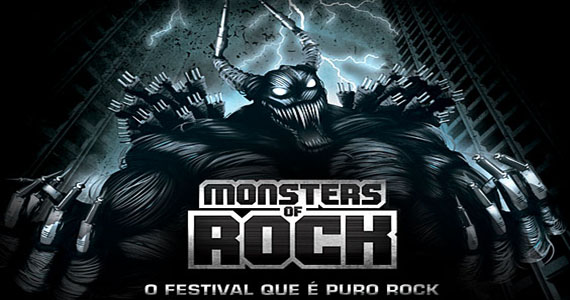 Slipknot, Limp Bizkit e Korn são protagonistas do 1° dia do Monsters Of Rock na Arena Anhembi - Rota do Rock Eventos BaresSP 570x300 imagem