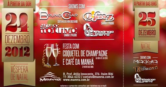 Noite de Natal com programação especial no Maevva Eventos BaresSP 570x300 imagem