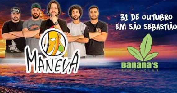 Grupo Maneva toca sucessos da carreira no Banana's Beach Club Eventos BaresSP 570x300 imagem
