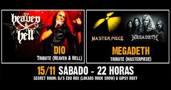 Dio Tribute e Megadeth Tribute comandam a noite de sábado no Manifesto Rock Bar Eventos BaresSP 570x300 imagem