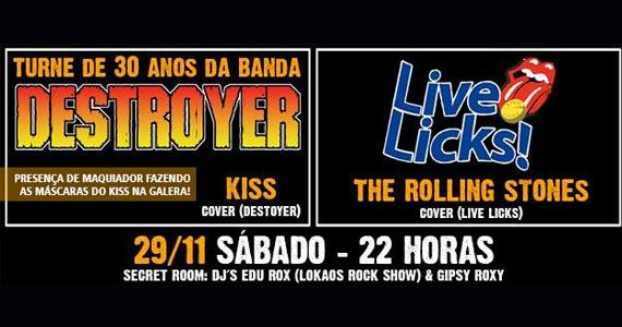 Kiss e The Rolling Stones Cover animam a noite de sábado com muito rock no Manifesto Bar Eventos BaresSP 570x300 imagem