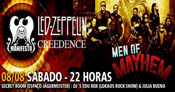 Manifesto Rock Bar apresenta o show de Men of Mayhem e Manifesto Classics no sábado Eventos BaresSP 570x300 imagem