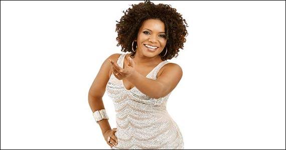 Cantora Margareth Menezes se apresenta no palco do Theatro NET nesta segunda-feira Eventos BaresSP 570x300 imagem