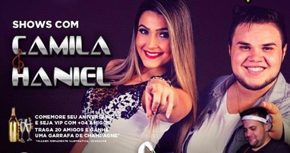 Camila e Haniel embalam a noite com sertanejo sábado no Maevva Bar Eventos BaresSP 570x300 imagem