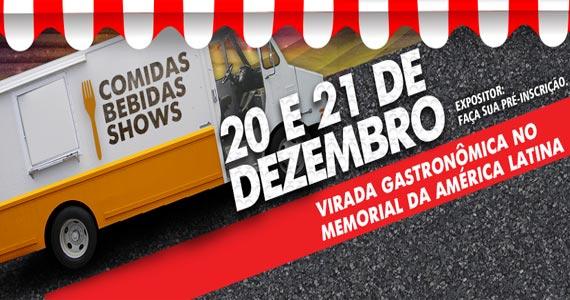 Memorial Food Spot realiza virada gastronômica no Memorial da América Latina em dezembro Eventos BaresSP 570x300 imagem