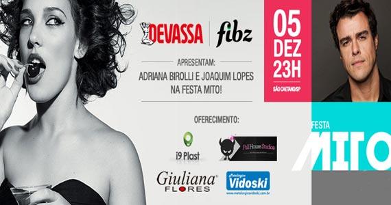 Hipérion recebe a Festa Mito com a Adriana Birolli e Joaquim Lopes Eventos BaresSP 570x300 imagem