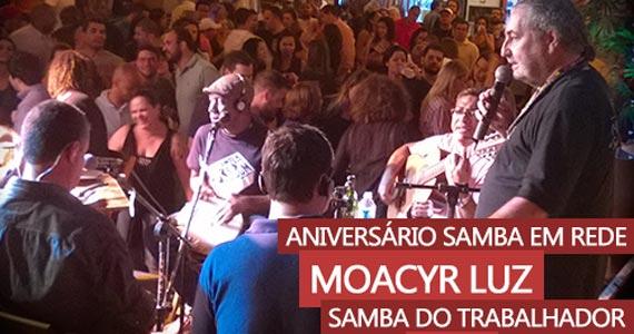 Moacyr Luz e Samba do Trabalhador comandam a noite de terça no Traço de União Eventos BaresSP 570x300 imagem