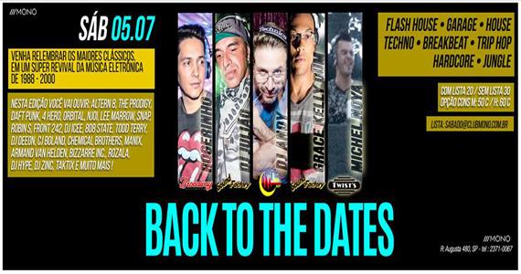 Clássicos da música eletrônica neste sábado com line-up exclusivo de DJs no Mono Club Eventos BaresSP 570x300 imagem