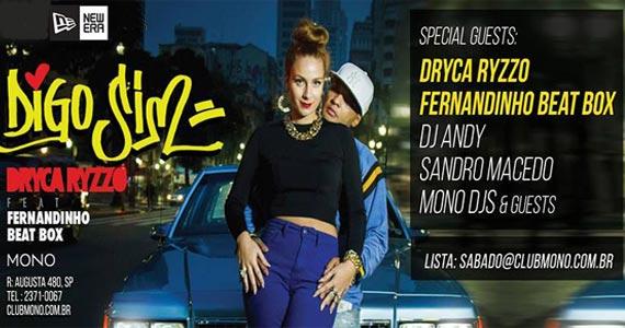 Mono Club realiza show de Dryca Ryzzo e convidados agitando a galera Eventos BaresSP 570x300 imagem