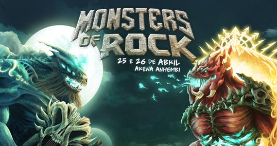 Monsters of Rock 2015 na Arena Anhembi