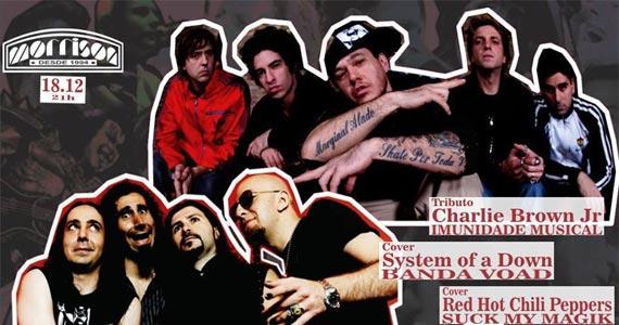 Morrison Rock Bar apresenta bandas covers do Charlie Brown Jr, System of Down e Red Hot Chilli Peppers Eventos BaresSP 570x300 imagem