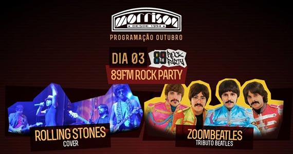 Bandas Zoombeatles e Rolling Stones cover comandam o projeto 89 Rock Party do Morrison Rock Bar Eventos BaresSP 570x300 imagem