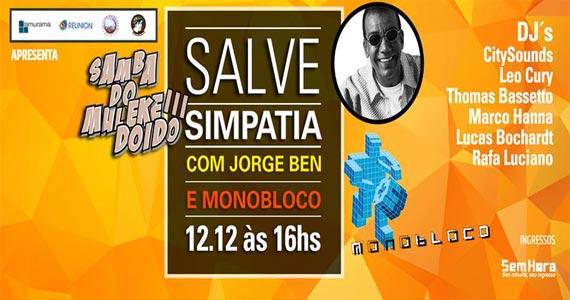 Audio Club apresenta o Samba do Muleke Doido com Jorge Ben e Monobloco Eventos BaresSP 570x300 imagem