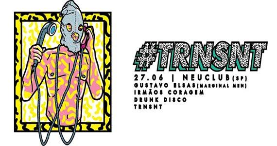 Festa TRNSNT  promete um line up com Gustavo Elsas e convidados agitando  Neu Club Eventos BaresSP 570x300 imagem