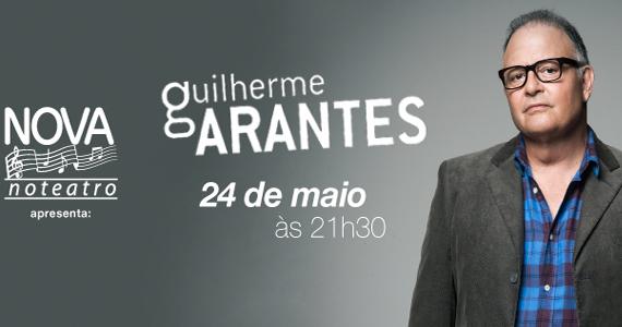Projeto Nova no Teatro recebe Guilherme Arantes no Teatro Bradesco Eventos BaresSP 570x300 imagem