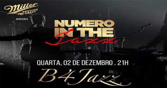 Bar número realiza Numero In Jazz com show da Banda B4 Jazz Eventos BaresSP 570x300 imagem