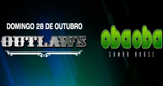 Outlaws recebe grupo Oba Oba com muito Samba House Eventos BaresSP 570x300 imagem
