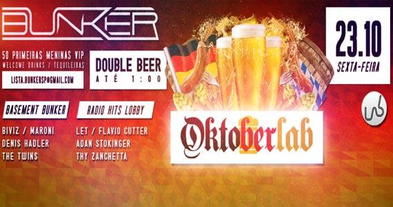 Oktoberlab oferece drinks especiais na sexta feira na Lab Club Eventos BaresSP 570x300 imagem