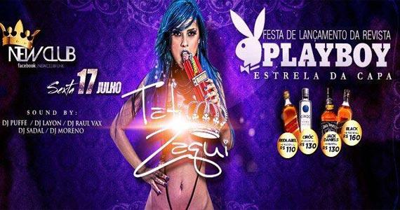 MC Tati Zaqui realiza Festa de lançamento da Playboy de Julho no Open Bar Club Eventos BaresSP 570x300 imagem