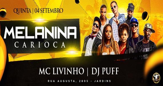 Melanina Carioca comanda a noite de quinta-feira com seus sucessos na Outlaws Eventos BaresSP 570x300 imagem