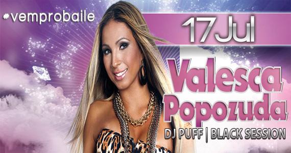 Funkeira Valesca Popozuda apresenta seus sucessos no palco da Outlaws nesta quinta-feira  Eventos BaresSP 570x300 imagem