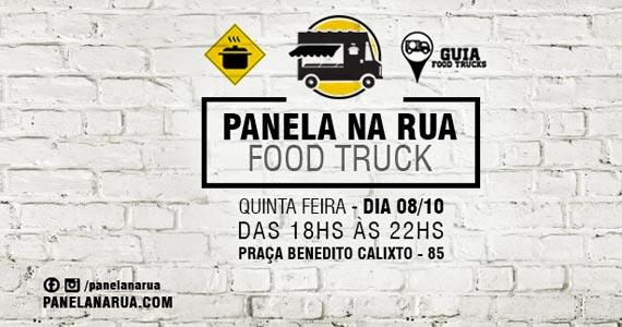 Panela na Rua com edição especial Food Trucks nesta quinta-feira na Praça Benedito Calixto Eventos BaresSP 570x300 imagem