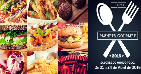 Planeta Gourmet Festival reúne o melhor da gastronomia no Shopping Center Norte Eventos BaresSP 570x300 imagem