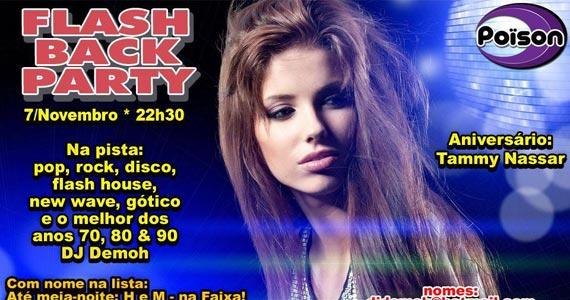 Flash Back Party com DJ Demoh nesta sexta-feira no Poison Bar e Balada Eventos BaresSP 570x300 imagem
