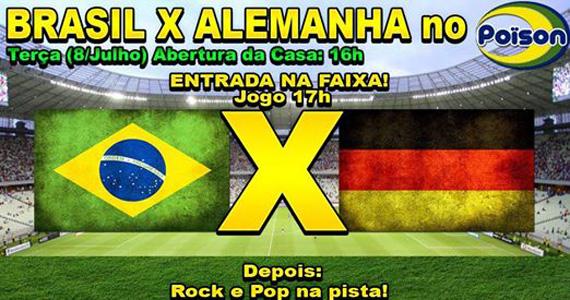 Poison Bar e Balada transmite jogo de Brasil x Alemanha e DJ Demoh nas pick-ups Eventos BaresSP 570x300 imagem