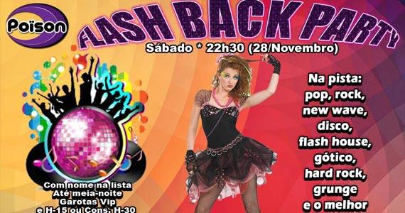 Festa Flash Back Party com DJ Demoh animando a noite de sábado no Poison Bar e Balada Eventos BaresSP 570x300 imagem
