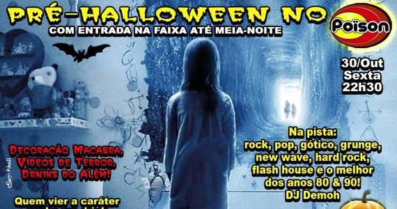 Festa de Pré-Halloween com DJ Demoh no Poison Bar e Balada Eventos BaresSP 570x300 imagem