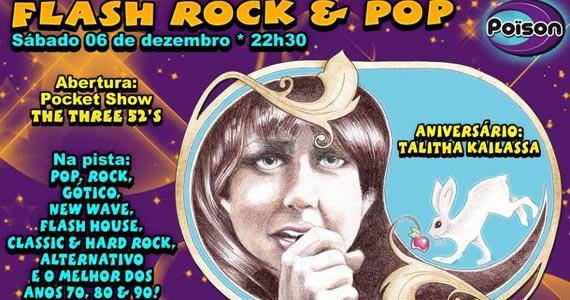 Flash Rock e Pop com DJ Demoh animando a noite de sábado do Poison Bar e Balada Eventos BaresSP 570x300 imagem