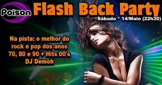 Flash Back Party com DJ Demoh nas pick-ups no Poison Bar e Balada no sábado Eventos BaresSP 570x300 imagem