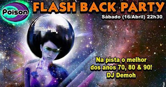 Flash Back Party com o melhor dos anos 70, 80 e 90 no Poison Bar e Balada Eventos BaresSP 570x300 imagem