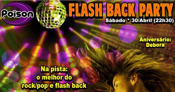 Flash Back Party com DJ Demoh com o melhor do anos 70, 80 e 90 no Poison Bar e Balada Eventos BaresSP 570x300 imagem
