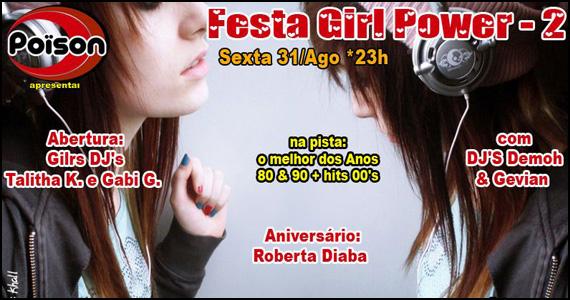 Poison Bar e Balada apresenta na sexta-feira a Festa Girl Power Eventos BaresSP 570x300 imagem