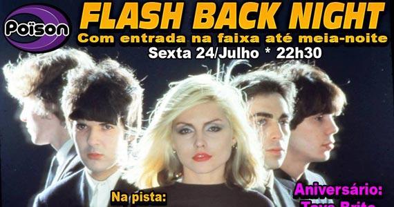Flash Back Night com DJ Demoh nas pick-ups do Poison Bar e Balada Eventos BaresSP 570x300 imagem