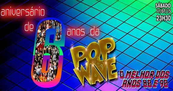 Inferno Club realiza Festa de Aniversário de 6 anos da Pop & Wave com atrações Eventos BaresSP 570x300 imagem