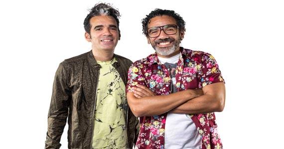Simoninha e Max de Castro apresentam o Baile do Simonal no palco do Teatro Porto Seguro Eventos BaresSP 570x300 imagem