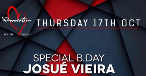 Provocateur Club apresenta a Noite Special B Day com Josué Vieira Eventos BaresSP 570x300 imagem