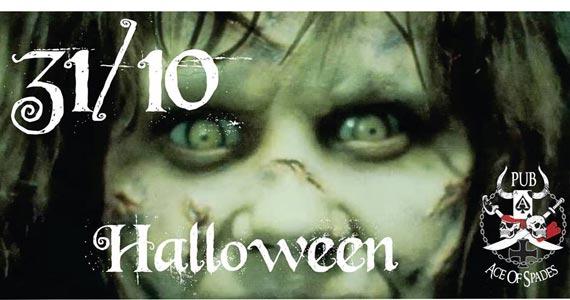 Festa de Halloween com muito rocknroll animando a noite de sexta-feira do Pub Ace of Spades Eventos BaresSP 570x300 imagem